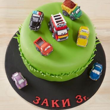 "Торта ""Героите на града"""