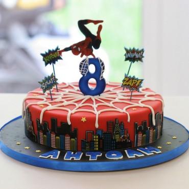 """Торта """"Спайдърмен"""""""