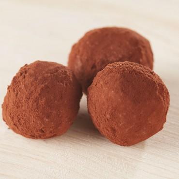 Шоколадови трюфели - портокал